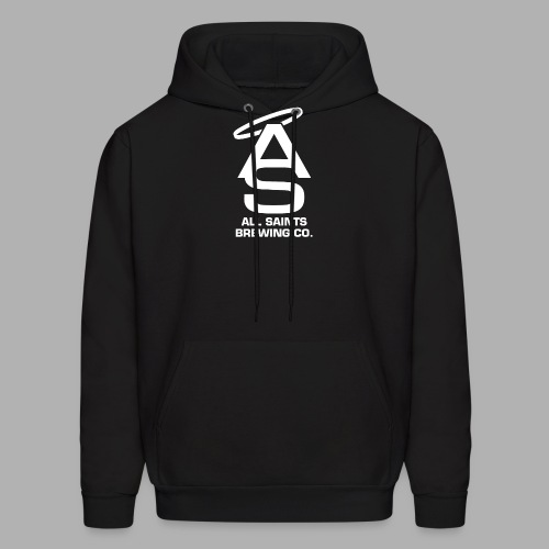 AS Logo white - Men's Hoodie