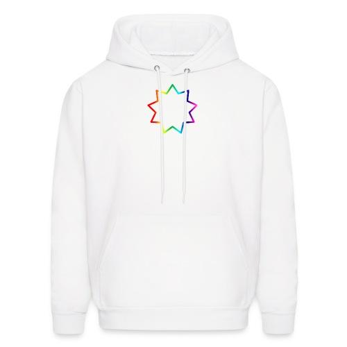 Baha´i rainbow - Men's Hoodie