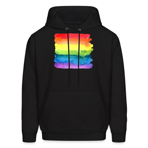 Paint Gay Pride - Men's Hoodie