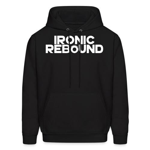 ironic rebound 4 png - Men's Hoodie