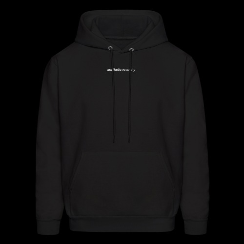 'Black' Aesthetic Anarchy - Men's Hoodie