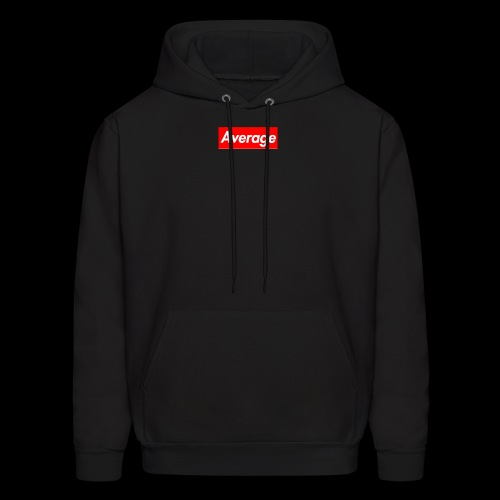 Average Supreme Logo Mockup - Men's Hoodie
