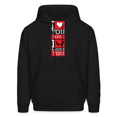 I Love You Jesus - Men's Hoodie