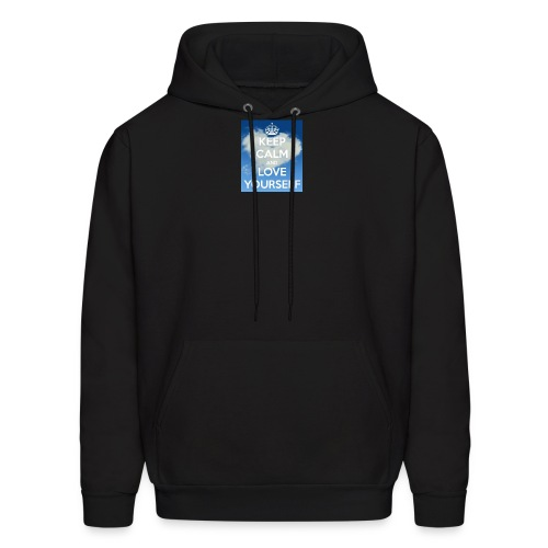 Keep calm and love yourself - Men's Hoodie