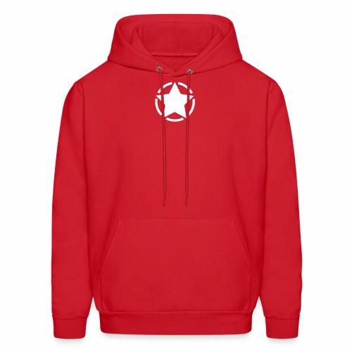 Staff starr 5pt white 14 16 - Men's Hoodie