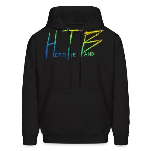 HTB LOGO UPDATE color - Men's Hoodie