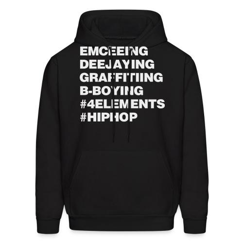 Four Elements of Hip Hop - Men's Hoodie