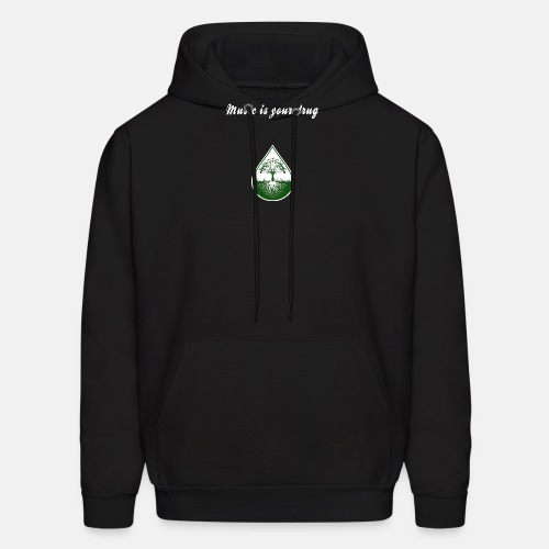music_is_your_drug - Men's Hoodie