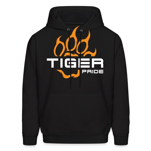 IV Tiger Pride on Black - Men's Hoodie