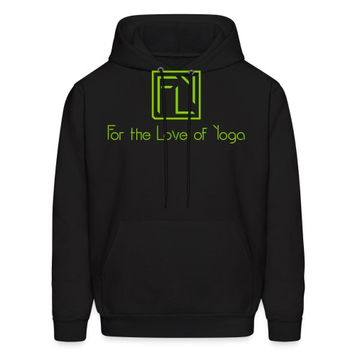 For the Love of Yoga - Men's Hoodie