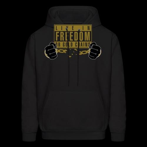 Live Free - Men's Hoodie
