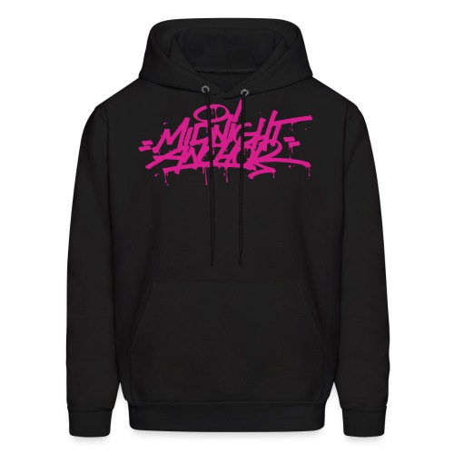 Midnight Anchor Drip - Men's Hoodie