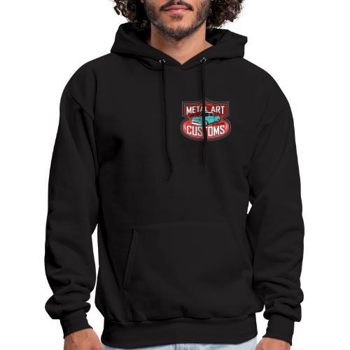 MetalArtCustomsLogo082915 - Men's Hoodie