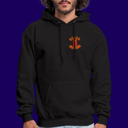 ChaosNConquer Minimalist Logo Print - Men's Hoodie