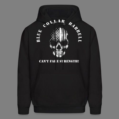 new shirt back2 - Men's Hoodie