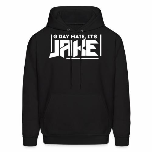 G'Day Mate It's Jake White Logo - Men's Hoodie