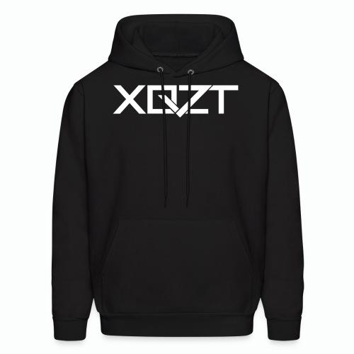 #XQZT Logo Snow White - Men's Hoodie