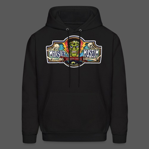 Monster Museum Entrance Sign - Men's Hoodie