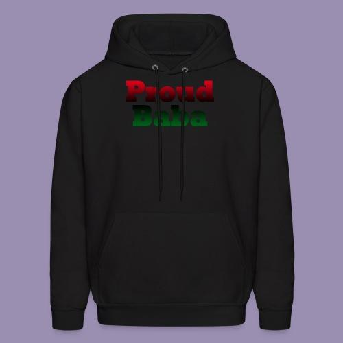 Proud Baba-RBG - Men's Hoodie