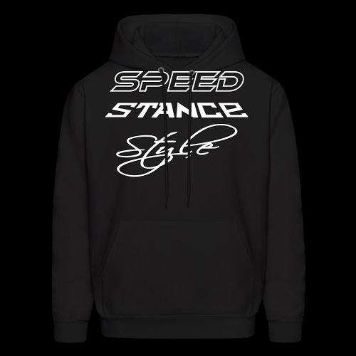 Speed stance style - Men's Hoodie