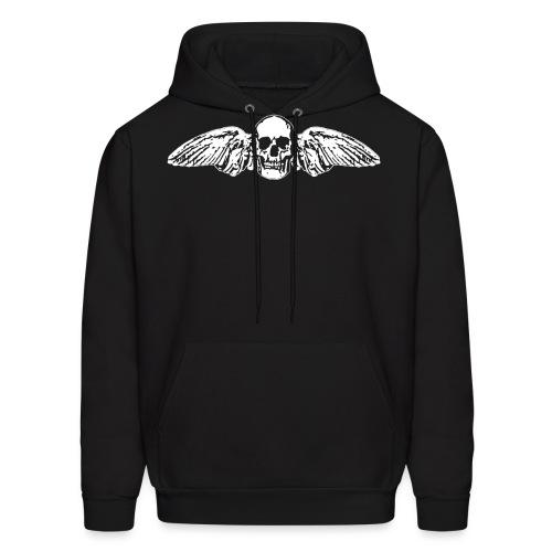 Skull + Wings - Men's Hoodie