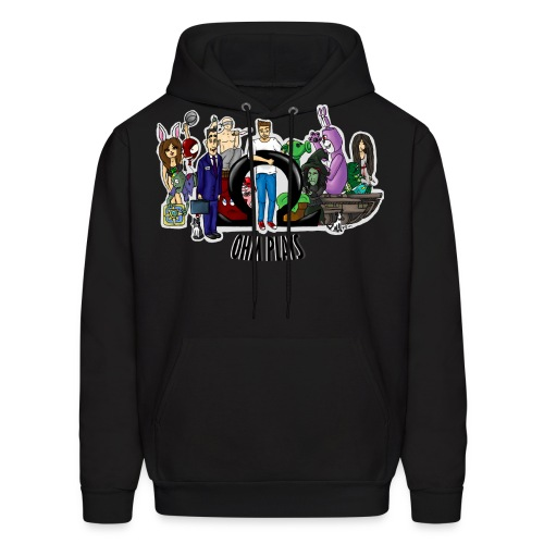 Ohm Shirt Ohm Plays Final Version Title png - Men's Hoodie