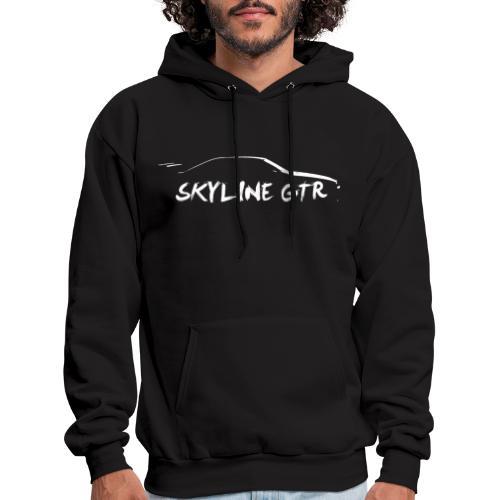Silhouette Skyline White - Men's Hoodie