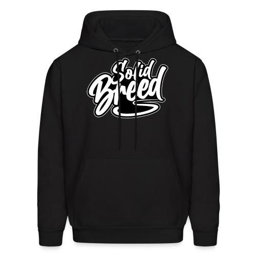 Solid Breed Contemporary Black Logo - Men's Hoodie