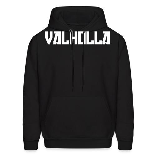 Valholla is the Future Hoody (Sweatshirt) Black - Men's Hoodie