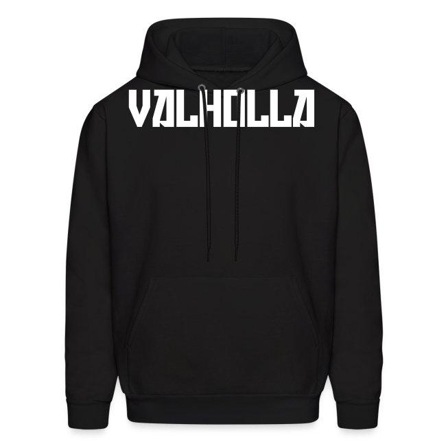 Valholla is the Future Hoody (Sweatshirt) Black