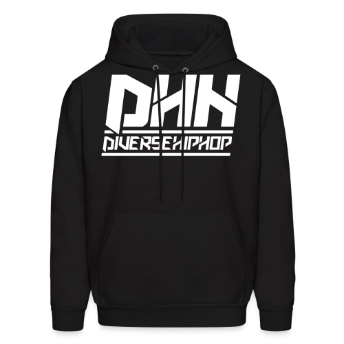 dhh diversehiphop white - Men's Hoodie