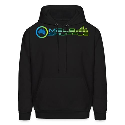 Melbshuffle Gradient Logo - Men's Hoodie