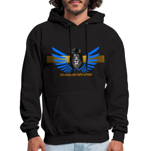The conscious Truth network png - Men's Hoodie
