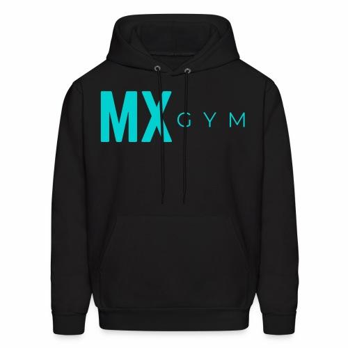MX Gym Minimal Long Teal - Men's Hoodie