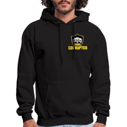 Team Corrupted Logo - Men's Hoodie