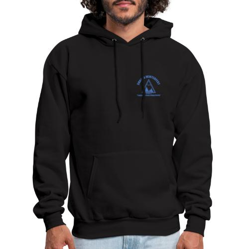 front and back logo - Men's Hoodie