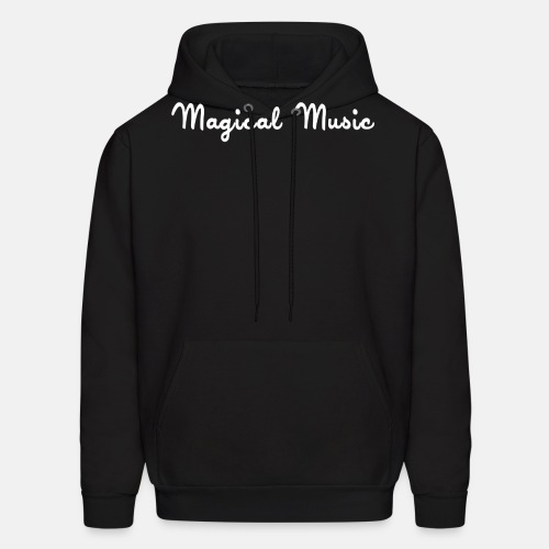 magical_music_text - Men's Hoodie