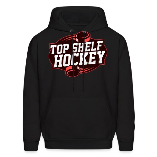 TopShelfHockeyLogoLarge - Men's Hoodie