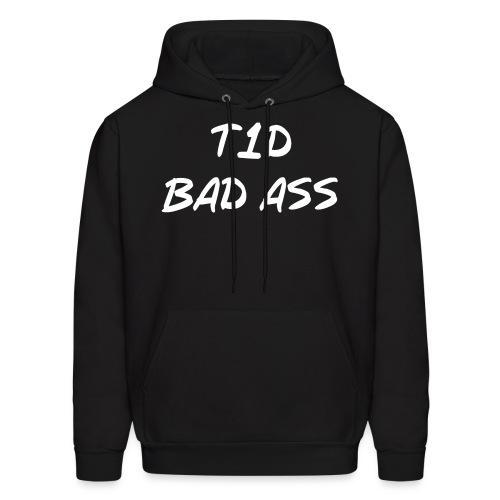 Type 1 Diabetic Bad Ass - Men's Hoodie