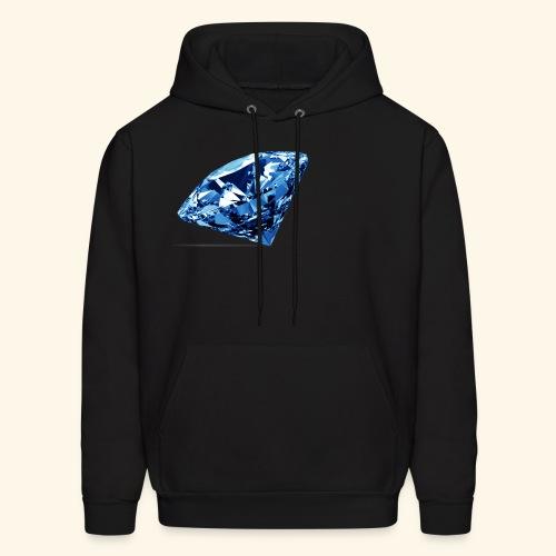 Blue Diamonds - Men's Hoodie