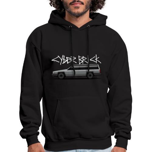 Cyberbrick Future Electric Wagon Graffiti - Men's Hoodie
