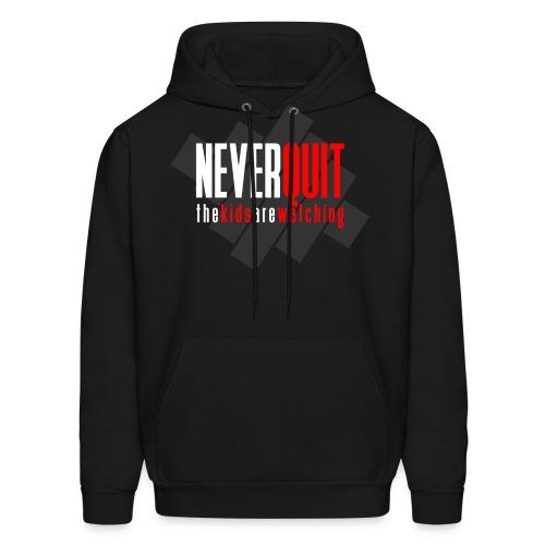 never_quit_kids1 - Men's Hoodie