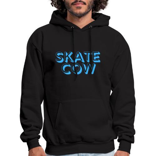 Printed Skate Cow - Men's Hoodie