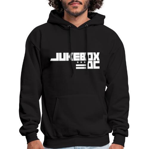 JUKEBOXDC White Logo - Men's Hoodie