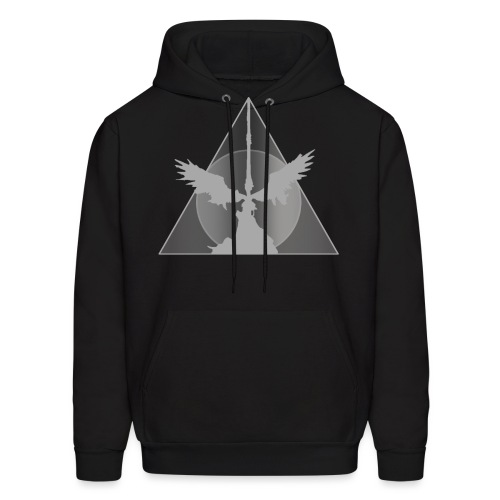 Deathly Hallows White - Men's Hoodie
