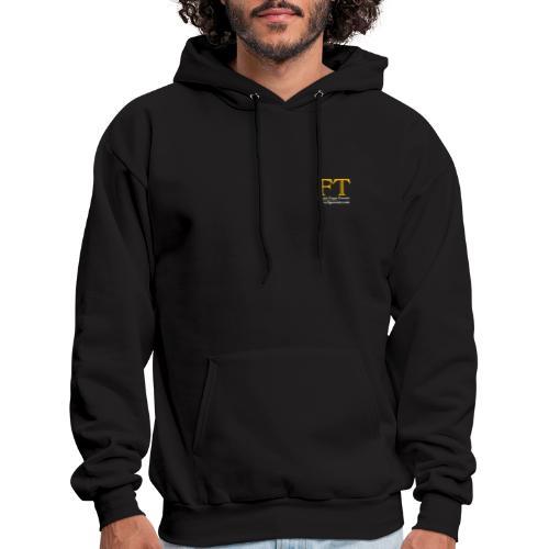 FT Logo Clear 300dpi - Men's Hoodie