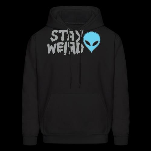 Stay Weird! Alien - Men's Hoodie