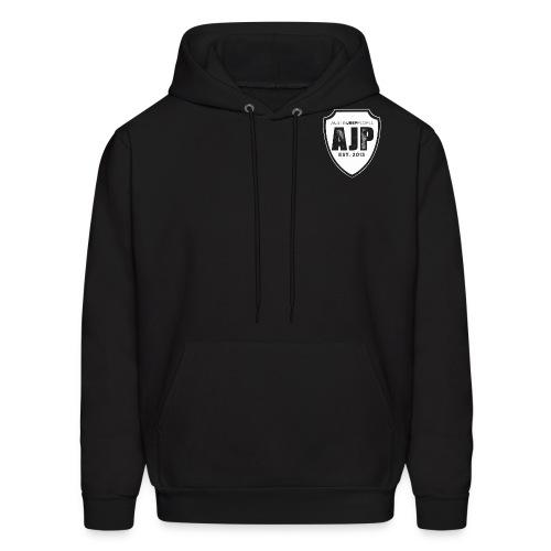AJP Shield white - Men's Hoodie