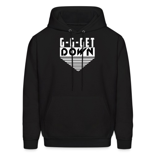 Ginger Beats get down white resize png - Men's Hoodie