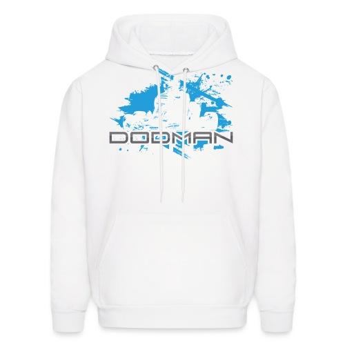 Dodman Engines design colour white png - Men's Hoodie